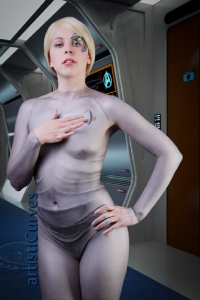 Shelle-chii as Seven of Nine