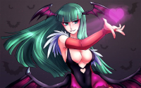 Morrigan Aensland from Alina Pegova