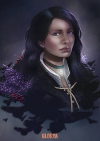 Yennefer from Glorya Art