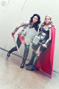 Siffy as Lady Sif, Siffy as Thor