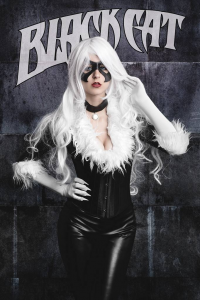 Juby Headshot as Black Cat