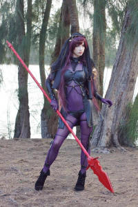 Megan Coffey as Scathach