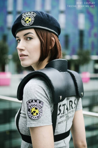 Lady Riot Cosplay as Jill Valentine