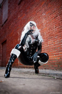 Jenna Lynn Cosplay as Black Cat