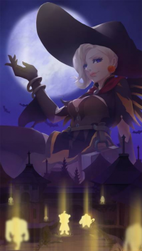 Mercy/Witch from begreen