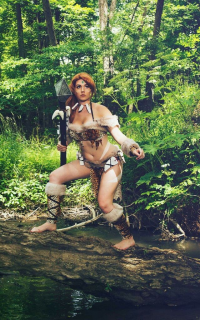 PureLight Cosplay as Nidalee