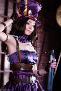 MilliganVick as Caitlyn