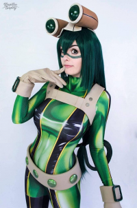 Tayla Barter as Froppy the Frog Girl