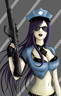 Caitlyn/Officer from Erin Cassey