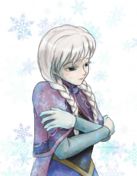 Elsa of Arendelle from Unknown Artist