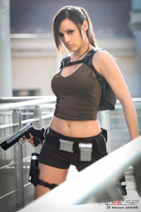 Illyne Cosplay as Lara Croft