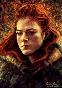 Ygritte from To Slash A Twisted Line