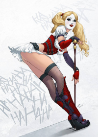 Harley Quinn from Sean Ellery
