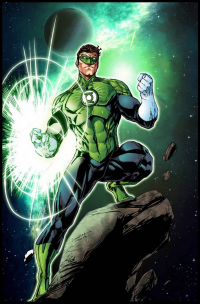 Green Lantern from Bruno Furlani