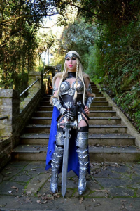 Brynhild Undómiel Cosplay as Valkyrie