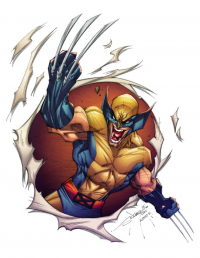 Wolverine from Alonso Espinoza
