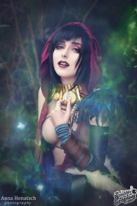 Anni the Duck as Morrigan