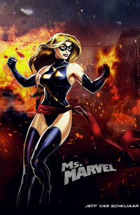 Ms. Marvel from Jeffery Van Schkijaar