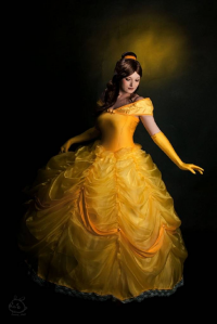 Dezembi Cosplay as Belle