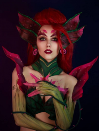 Helen Stifler's Cosplay page as Zyra