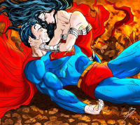 Superman, Wonder Woman from Sergio Sierra