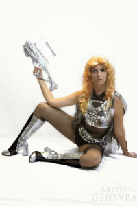 Genevra as Barbarella