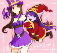 Caitlyn, Lulu from あおこ