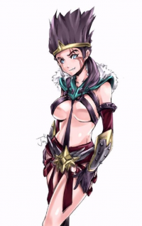 Draven from Relax 絵
