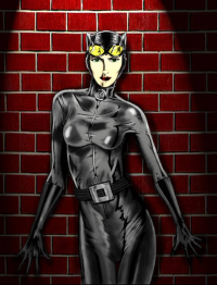 Catwoman from Adam Tupper