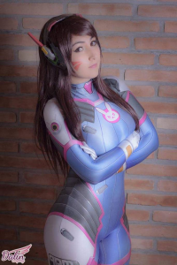 Dalin Cosplay as D.Va