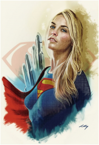 Supergirl from Alexandre SalleS