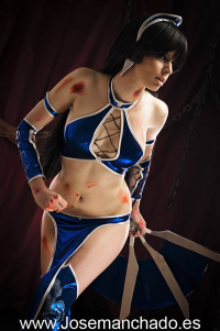 Thelema Therion as Kitana