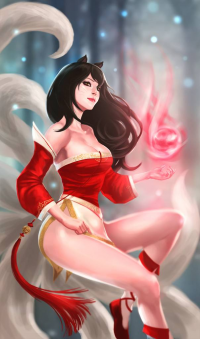 Ahri from Abbbu7