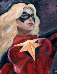 Ms. Marvel from Belphegor86