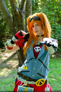 Hellbunny46 cosplay as Gaige