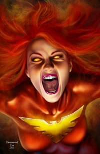 Dark Phoenix from Raymund Lee