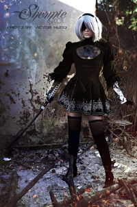 Shermie Cosplay as 2B