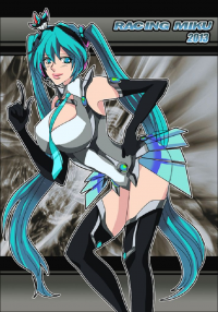 Miku Hatsune from DrawingWolf