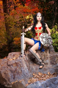 Maka Lee as Wonder Woman