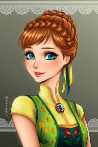 Anna of Arendelle from Mari945