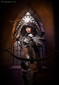 Freia Raven as Demon Hunter
