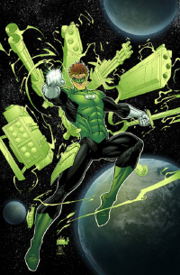 Green Lantern from Sean Ellery