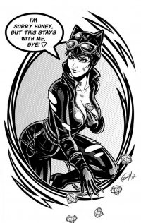 Catwoman from Edgar Sandoval