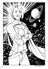 Power Girl from David Golding