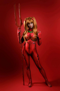 Ryuu Lavitz as Asuka Langley Soryu