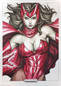 Scarlet Witch from Stanley Lau