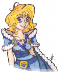Crystal Maiden from ☃Snowfluff Kadoodles