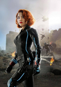 Ale Kat as Black Widow
