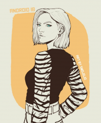 Android 18 from Joelle Douglas