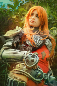 Ise Cosplay as Barbarian
